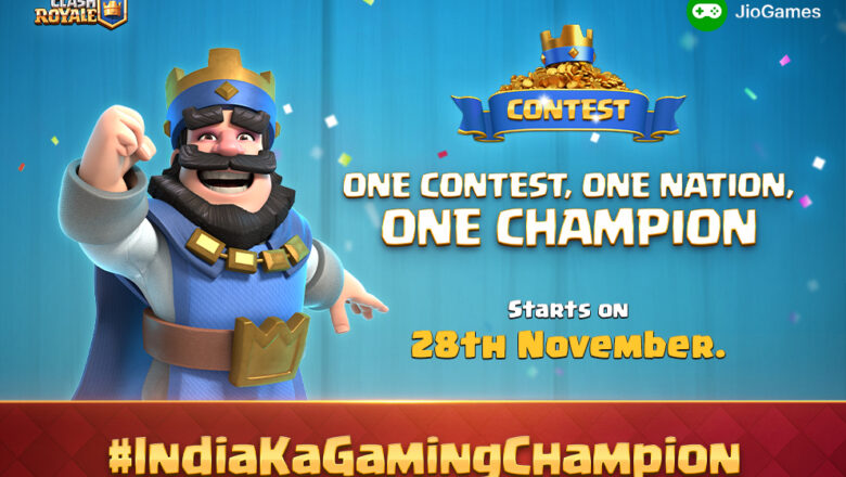 Clash Royale and JioGames Team Up to Host Epic Gaming Tournament for the People