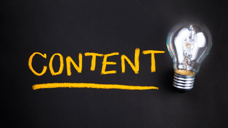 4 Types of Content and 4 Reasons to use Content Marketing in 2021